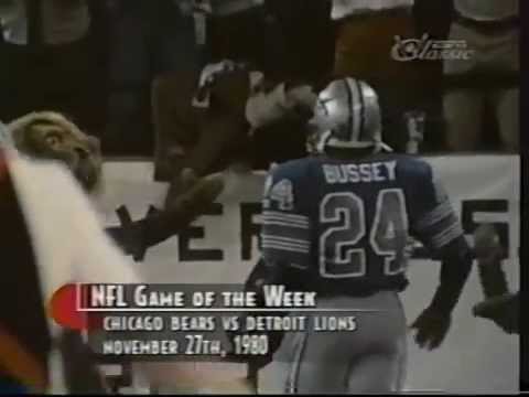 Billy Sims Finishes With Style