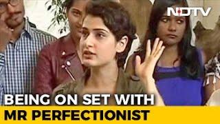 Aamir Is Not Conscious As An Actor: Fatima Sana Shaikh