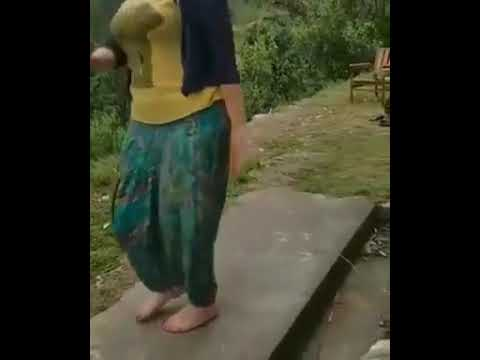 A forner girl dance on chamba himachal song