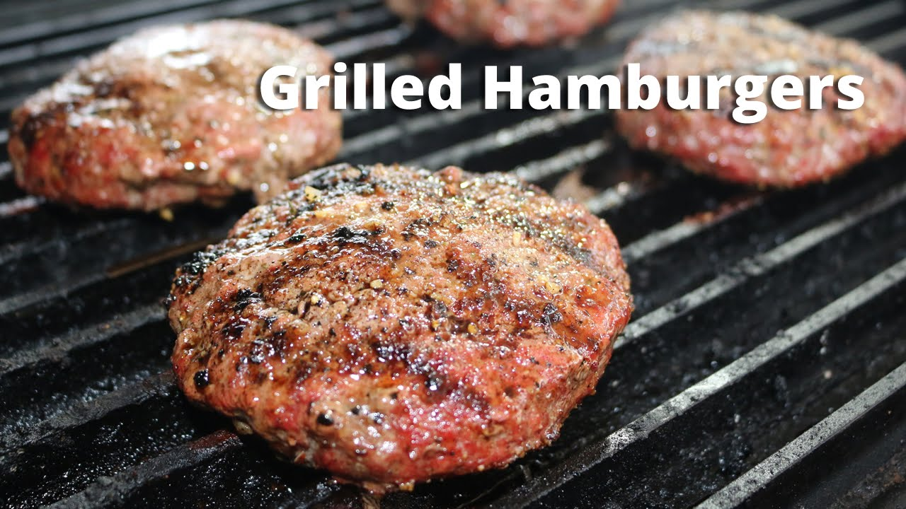 How To Grill Hamburgers On Big Green Egg Super Burger Recipes With Malcom Reed Howtobbqright Youtube