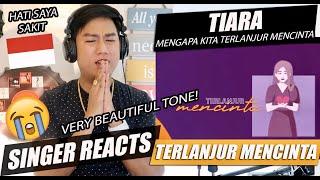 Download lagu Tiara Andini - Maafkan Aku #TerlanjurMencinta (Official Lyric Video) | SINGER REACTION