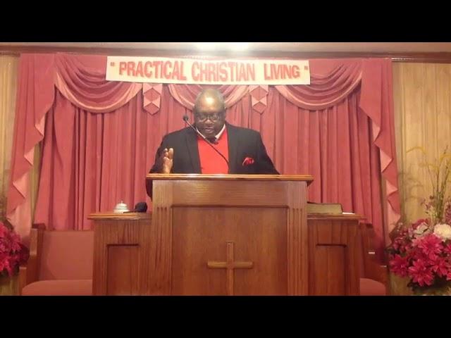 Sunday's Sermon December 6, 2020 by Bro John T. Somerville