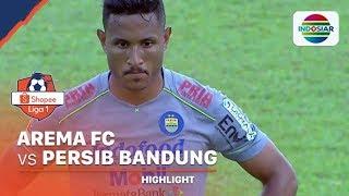 Highlights - Arema FC 1 vs 2 Persib Bandung | Shopee Liga 1 2020
