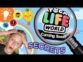 TOCA LIFE WORLD: FINDING CRAZY SECRETS!!! | NEW APP by Toca Boca | First Impressions!