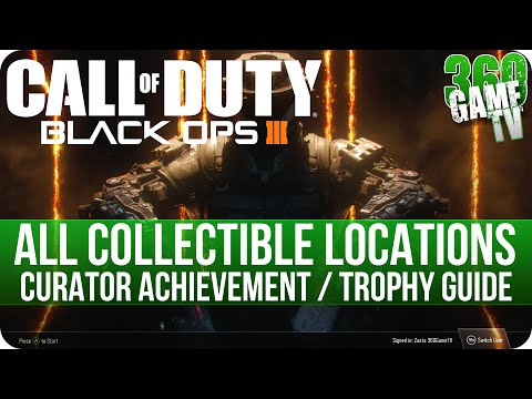 Call of Duty Black Ops 3 - All Collectibles Locations - Curator Achievement / Trophy Guide