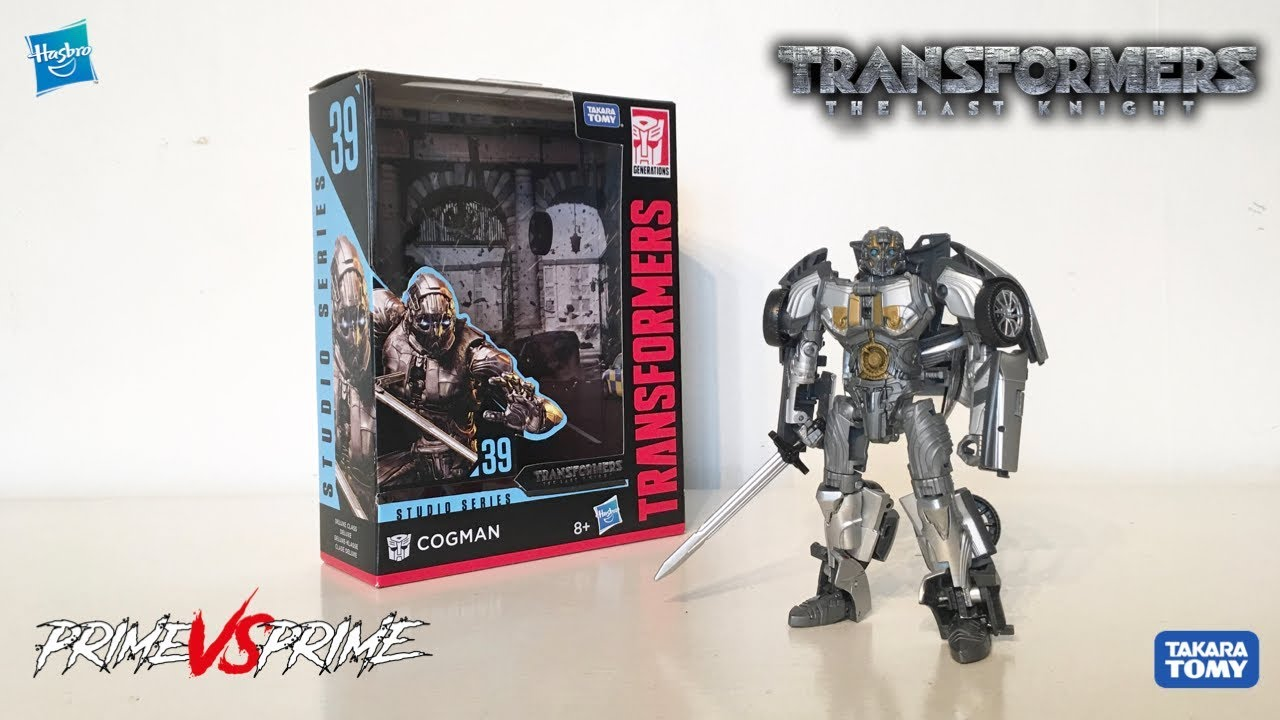 Transformers Studio Series COGMAN Deluxe Class SS 39 The Last Knight IN STOCK