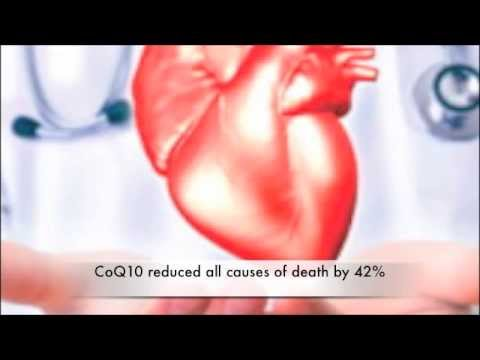 How Ubiquinol CoQ10 Improves a Congestive Heart. What Dose to Take.