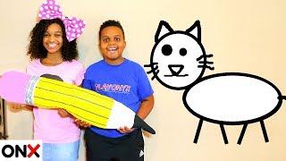 DOODLE CAT! - Shasha and Shiloh - Onyx Kids