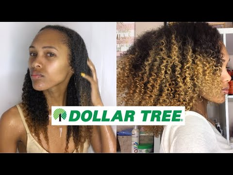 Dollar Tree Natural Hair Routine | I Spent $4 And The Results Shocked Me 😩😍