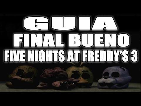 Five nights at freddy s 3 good ending super secreto guia final