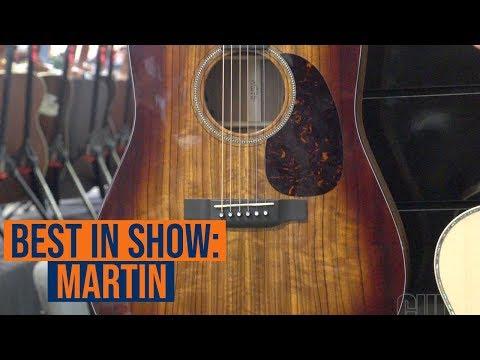 Martin D-16E Best in Show Summer NAMM 2019