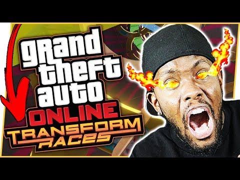 BRAND NEW TRANSFORMATION RACES! - GTA Online Gameplay