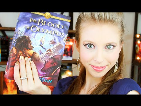 THE BLOOD OF OLYMPUS BY RICK RIORDAN | booktalk with XTINEMAY