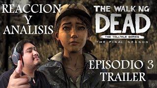 Vídeo Reacción A: El Nuevo trailer de The walking dead Temporada final episodio 3