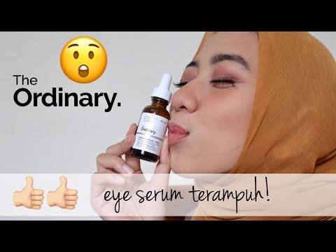 SERUM PENGHILANG MATA PANDA!!! | The Ordinary Caffeine Solution 5%+ EGCG