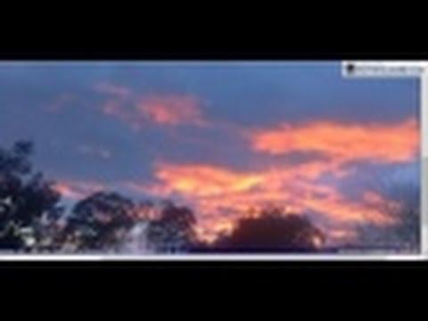 NIBIRU? ACT Canberra webcam (E) Strange Sunrise Sept 4, 2016
