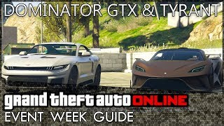 GTA Online: Dominator GTX and Tyrant Released, Double Cash in Missions and More!