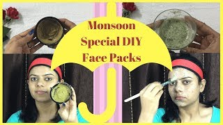 Monsoon Special Easy DIY Face Packs for Glowing and Radiant Skin  | Health Beauty and Life |2018