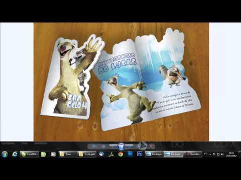 Corel Draw Como Criar Convite Chá Bar Funnydogtv