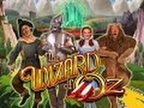 Wizard of Oz Slot Machine Bonus-Max Bet