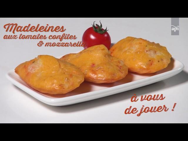 Madeleine mozzarella