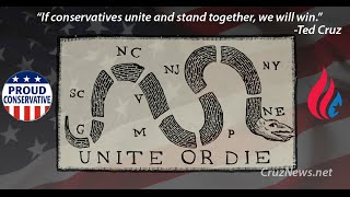 "Ted Cruz, ""If conservatives unite and stand together, we will win."""