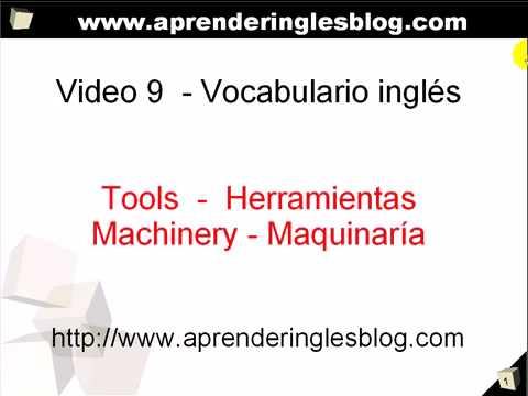 Vocabulario de ingls herramientas de trabajo urtaz Gallery