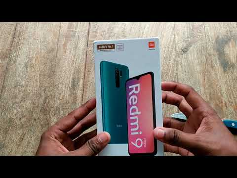 Redmi 9 prime unboxing and review Mint green #redmi9prime #mintgreen #miphone