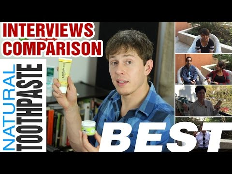 BEST Natural Toothpaste - Final Shootout - Top 4 Brands Compared & Reviewed