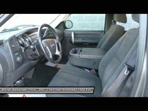 2007 CHEVROLET SILVERADO 1500 Lewisburg, PA LU2790