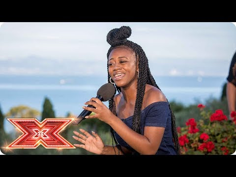 Rai-Elle Williams goes big with Somebody That I Used To Know | Judges' Houses | The X Factor 2017