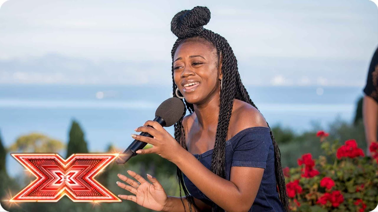 Rai Elle Williams Goes With Somebody That I Used To Know Judges Houses The X Factor 2017