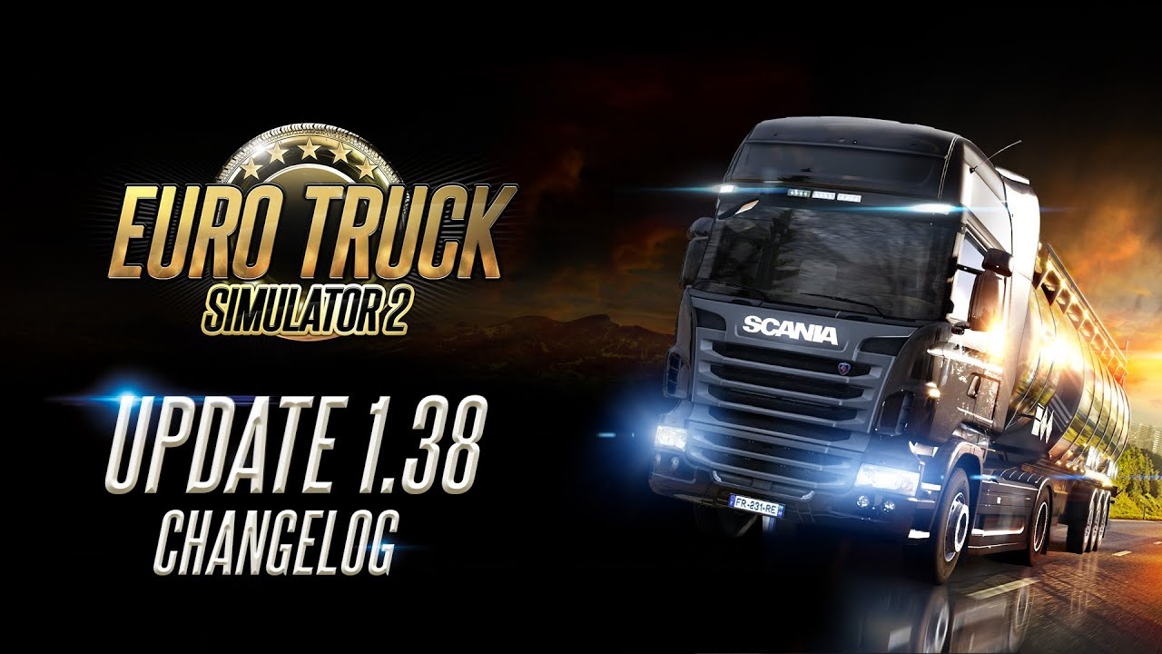 Changelog for ETS2 Update 1.38