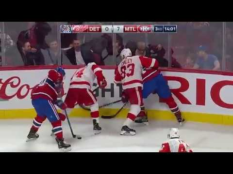 Montreal Canadiens VS Detroit Red Wings 10-1 highlights