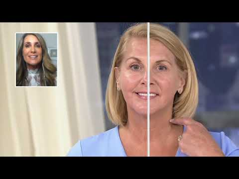 nuface-trinity-facial-toning-device-w/-1-year-supply-of-gels-on-qvc