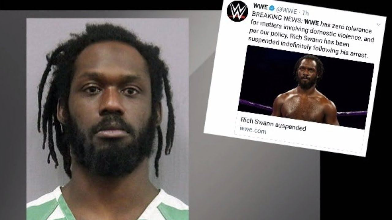WWE's Rich Swann arrested for domestic battery, false imprisonment ...