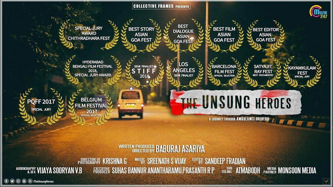 The Unsung Heroes   Award Winning Documentary About Ambulance Drivers    Baburaj Asariya   Official