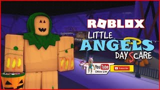 SPOOKY MANSION! Little Angels Daycare V9 | ROBLOX