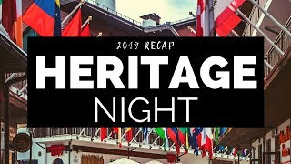 UWB Heritage Night 2019