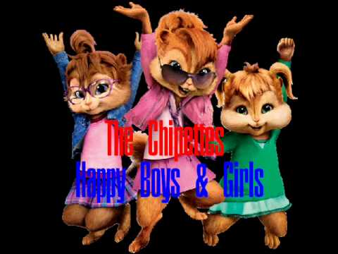 Brittany & The Chipettes Feat Simon Seville - Happy Boys & Girls
