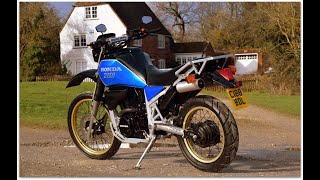 FOR SALE £4,995 1986 Honda XLV750R having had 2 year restoration by Honda Specialist in Italy
