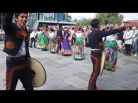 MEXICO DANCERS VISITINGS IN VEJLE DENMARK 2016