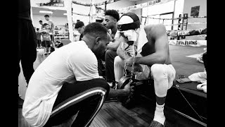 EXCLUSIVE :DEVIN HANEY TRAINING CAMP: A DAY IN THE LIFE OF A WORLD CHAMPION: ON THE ROPES BOXING