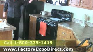 Mobile Homes Upgrades, Drop Lights Ceiling Fan Appliance Package, Texas
