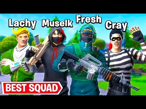 BEST SQUAD IN FORTNITE??