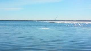 Sailboat Beached On Cooks Bay