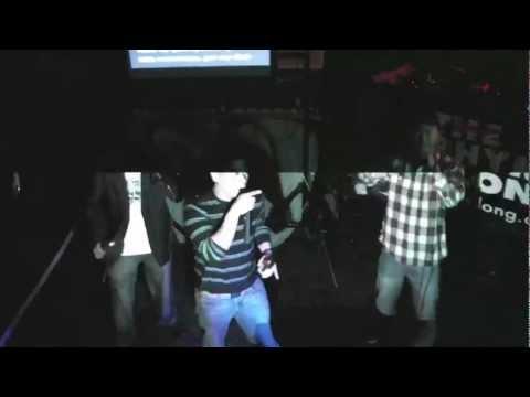 The Rhyme Along - Hip Hop Karaoke LA - 11.19.11 - Move Bitch by R.Nold, Al & Lex