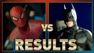 SpiderMan vs Batman: Fanboy Faceoff Results