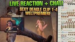 biBa reagiert auf Most Sexy Deagle Clip 1-4 mit Chat! WELTPREMIERE von Teil 4!