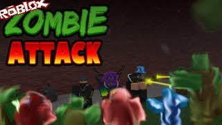 ROBLOX - Great Squad [Zombie Attack] - Android Gameplay, Walkthrough